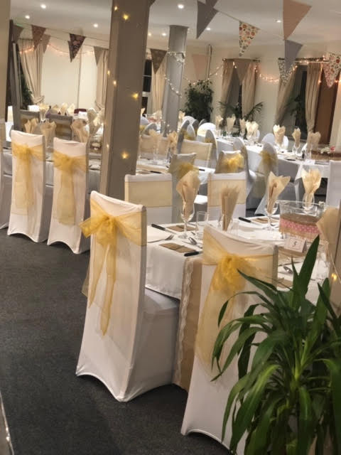 Function  Room Wedding Gold