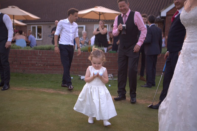 Whirehill Golf Course Wedding