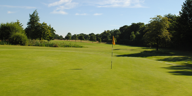 14th Hole Par 4 Whitehill Golf Course