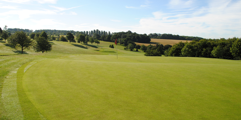 9th Hole Par 3 Whitehill Golf Course