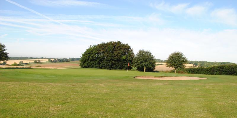 Par 5 Hole 3 Whitehill Golf Course