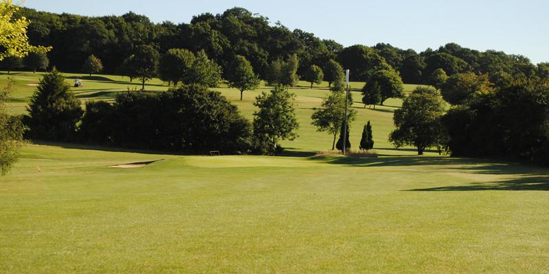 6th Hole Par 5 Whitehill Golf Course