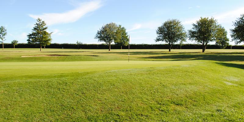 Par 3 Hole 4 Whitehill Golf Course