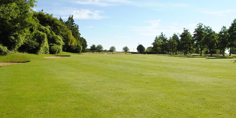 13th Hole Par 4 Whitehill Golf Course