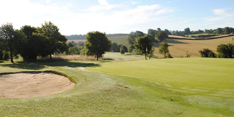 Par 3 4th Hole Whitehill Golf Course