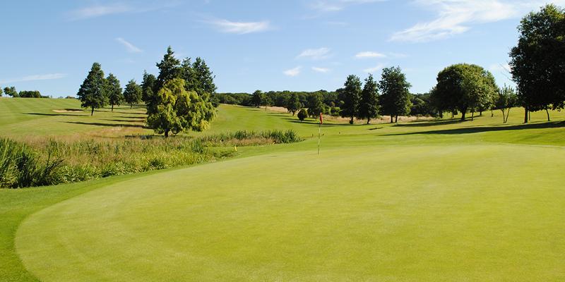 17th Hole Par 4 Whitehill Golf Course