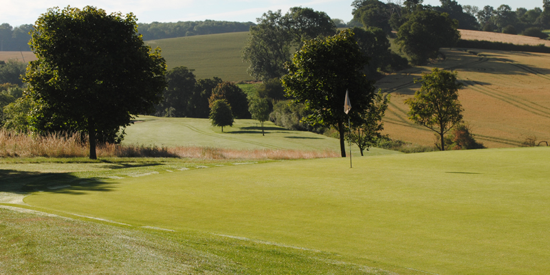 4th Hole Par 3 Whitehill Golf Course