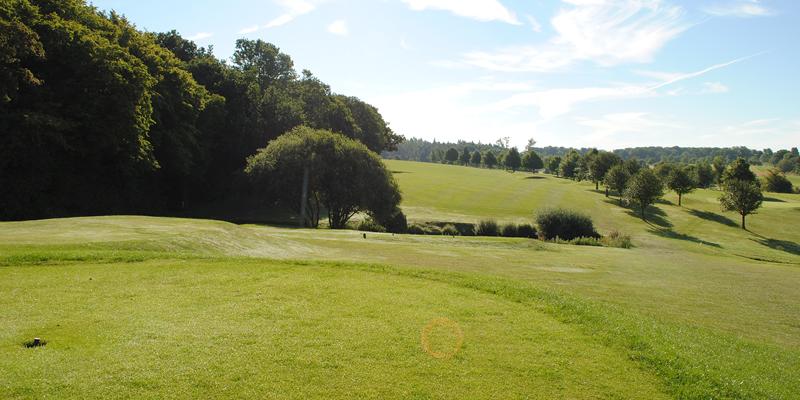 10th Hole Par 4 Whitehill Golf Course