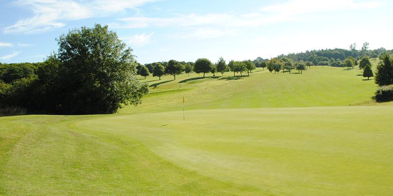 16th Hole Par 4 Whitehill Golf Course