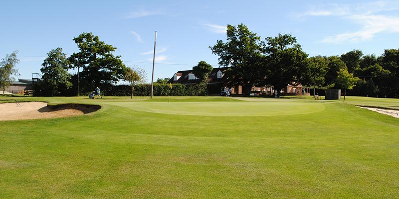 18th Hole Par 5 Whitehill Golf Course