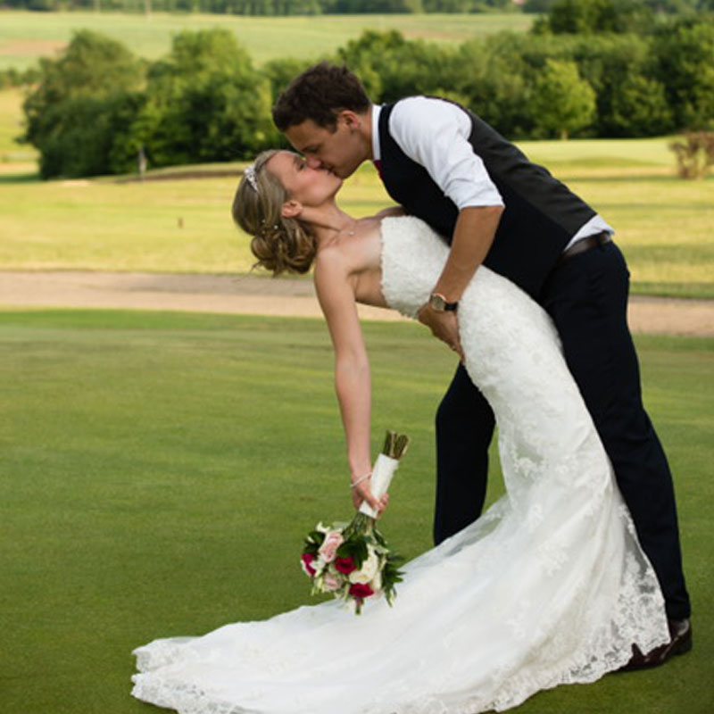 Whitehill Golf Course Wedding putting green